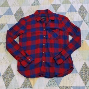 American Eagle Outfitters Checkered Shirt, XS